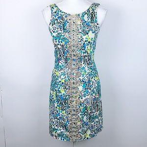 LILY PULITZER abstract safari print dress